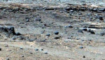 Cangrejo gigante, mujer alienígena con senos y esfera levitando encontrados en la superficie de Marte ~ Consciencia y Vida/ Magazine