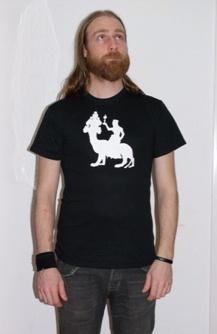 "T-skjorte one off ""The Whore of Babylon"" silhouette"