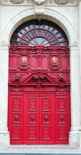 Magestic Red Door - Paris, France