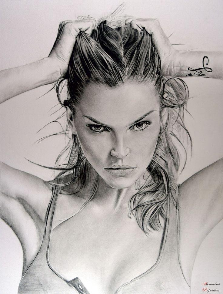 May Andersen drawing