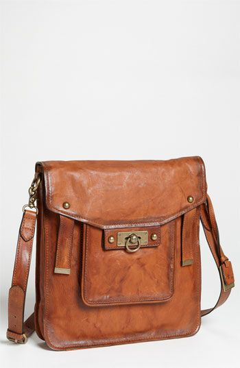 Using a more rugged casual bag with a WTW look is modern and unexpected! Frye 'Cameron' Shoulder Bag available at #Nordstrom