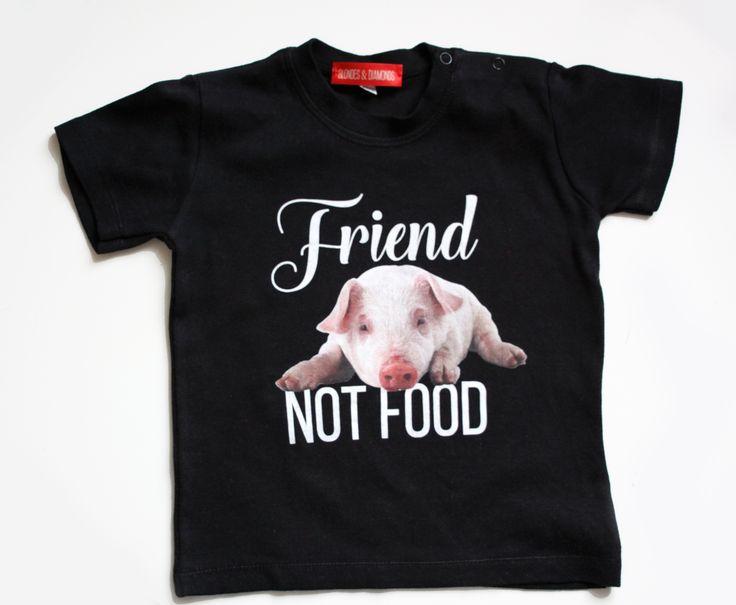 vegan toddler graphic t-shirt / eco / organic / fair trade