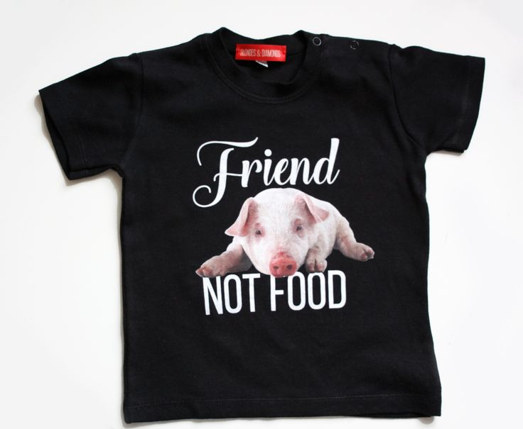 vegan toddler graphic t-shirt / eco / organic / fair trade