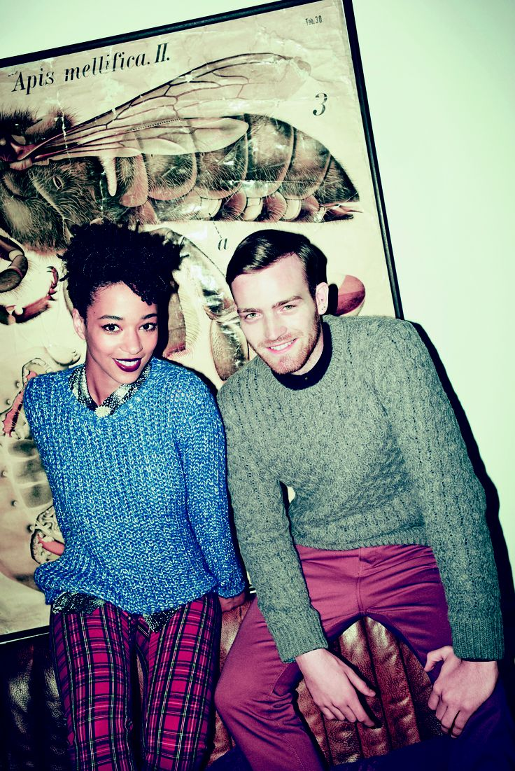 Chunky knits are a must have for A/W '13