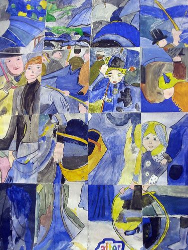 Umbrella Painting Renoir Ideas For Art