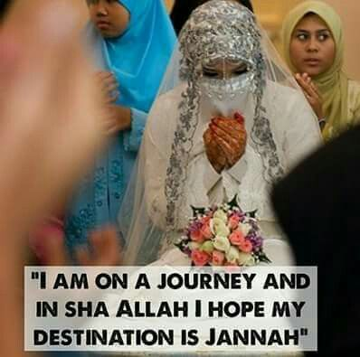 """Jannah (Arabic: جنّة Jannah), an eternal place for Muslim people, is the Islamic conception of paradise. The Arabic word Jannah is a shortened version meaning simply """"Garden"""". According to Islamic eschatology, after death, one will reside in the grave until the appointed resurrection on Yawm al-Qiyāmah."""