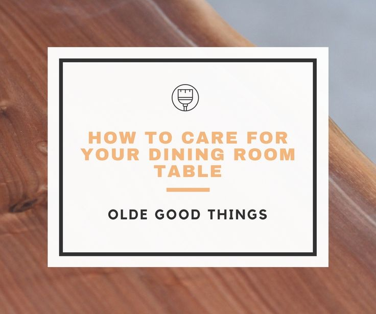 If You Are The Proud Owner Of An Olde Good Things Handcrafted Dining Room  Table Or