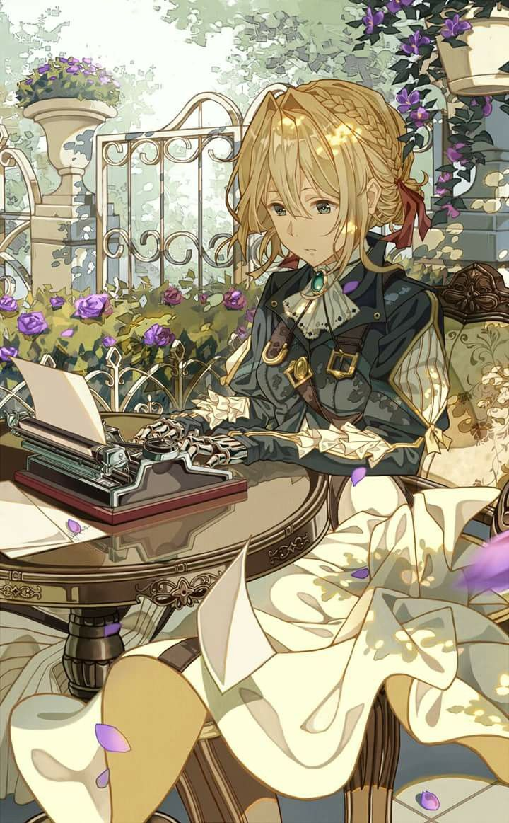 Violet Evergarden The new Kyoto Animation's project <3