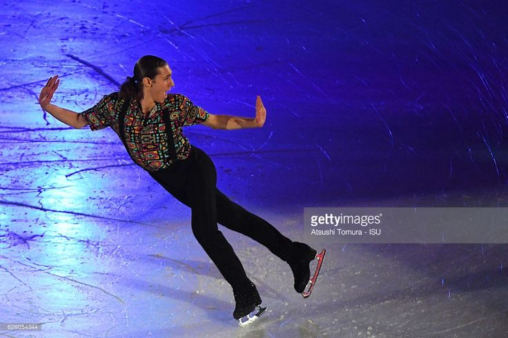 News Photo : Jason Brown of the USA performs in the gala...