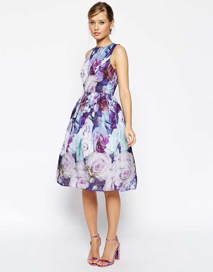 Pin for Later: The 6 Dresses That Will See You Through the Entire Summer The Smart Floral Dress