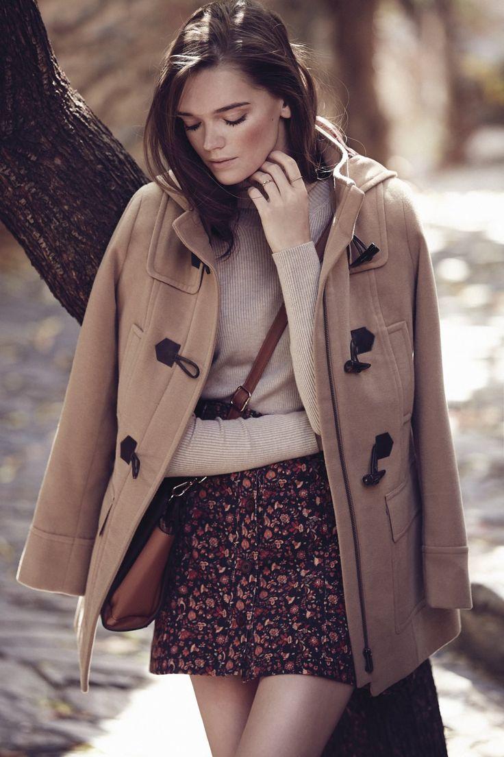 Conjugue padrões neste Inverno! #Saia #Camisola #Casaco #Mala