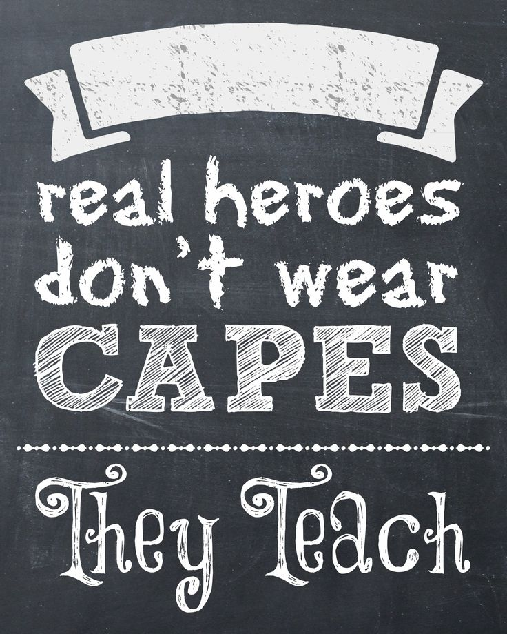I may not want to teach for a living, but I feel for teachers everywhere, this is true.