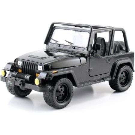 Metals 1:24 JT '92 Jeep Wranger, Black