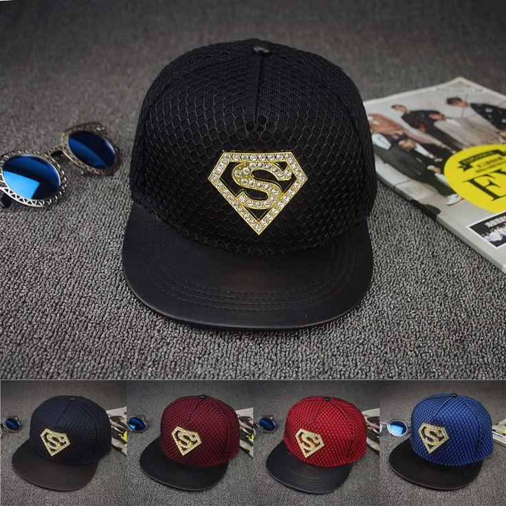 Superman Diamond Cap //Price: $15.00 & FREE Shipping //     #superheroez #superheroes #marvel #dccomics