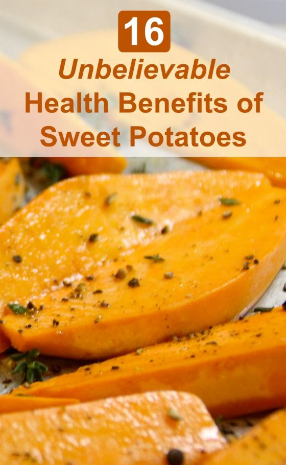 Sweet potatoes pack a powerful nutritional punch. They have got over 400% of your daily needs for vitamin A in one medium spud, as well as loads of fiber and potassium.