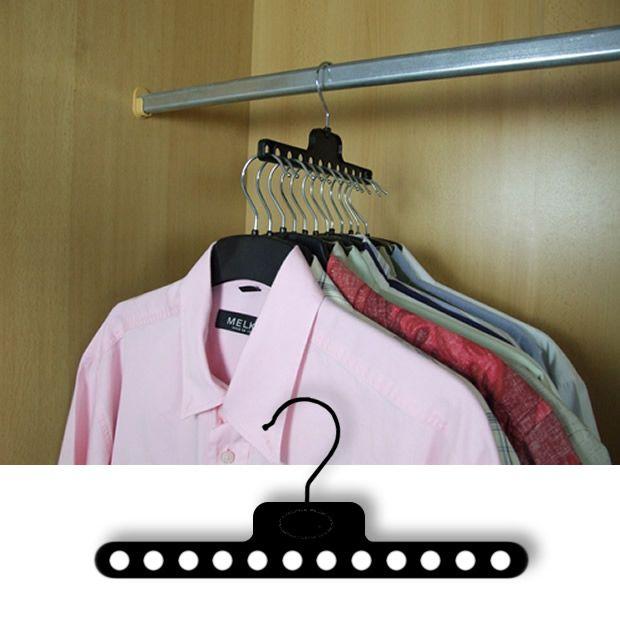 Sideway clothe hanger