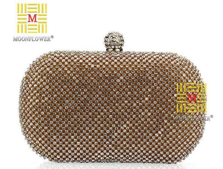 NEW Women's Imitation Diamante Evening bags,Bride bag with Shoulder Chain,Women clutch bag,Fashion party bag,Free Shipping GB230 US $27.99