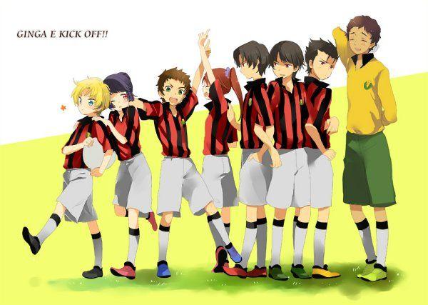Teichiku Plans 'Ginga e Kickoff!' Blu-ray Anime Box Set
