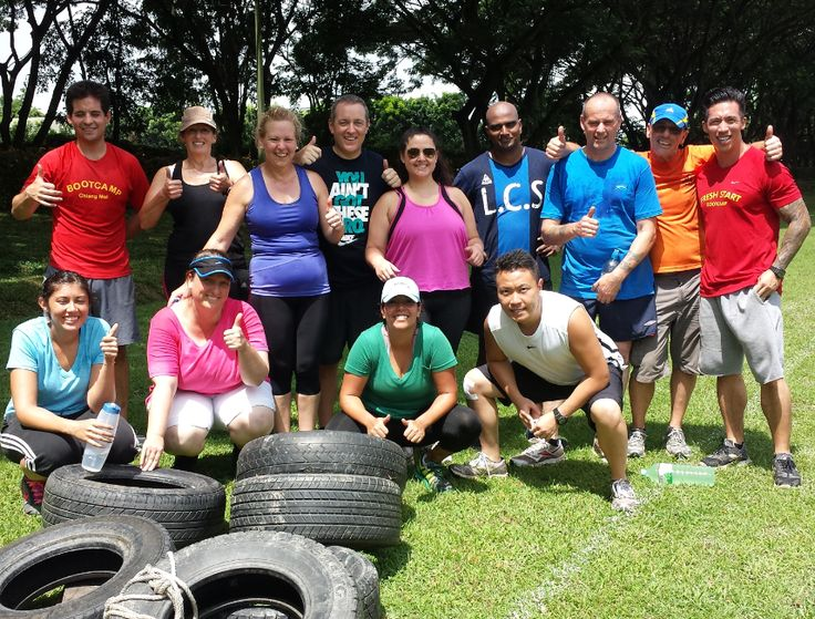 Fun boot camp inspired activates including tyre flips and tyre drags. Lots of surprises too!