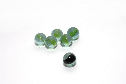 Marbles are the foundation of numerous children's games.