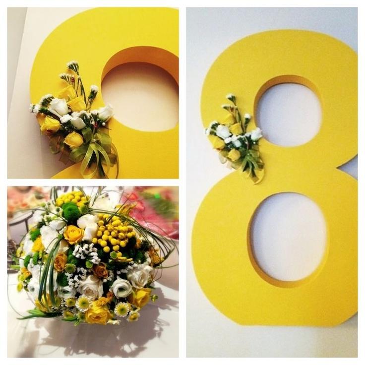 International woman's day event.  Flowers.  www.coollook.su