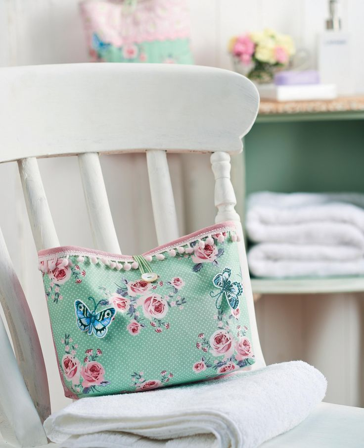 How to make - Floral Wash Bag and Hanging Storage Bag register. thanks so xox