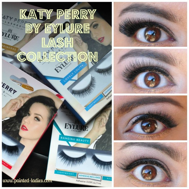 You'll Be Batting Lashes Like A Rock Star With Katy Perry By Eylure Lash Collection - Painted Ladies