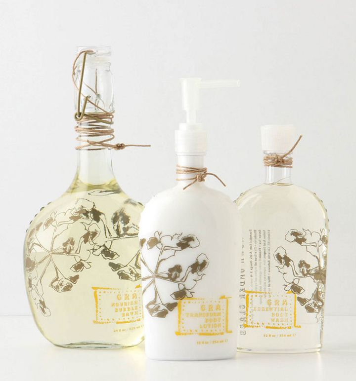 Beauty product branding @Anthropologie love!: Anthropology Beautiful, Anthropology Logos, Bottle Packaging Design, Beautiful Packaging Design, Hotels Interiors, Beautiful Products Packaging, Bottle Design, Anthropologiesbeautyjpg 600400, Glasses Bottle Packaging