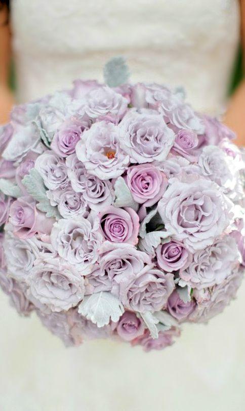 Wedding ● Bouquet ● Lavendar