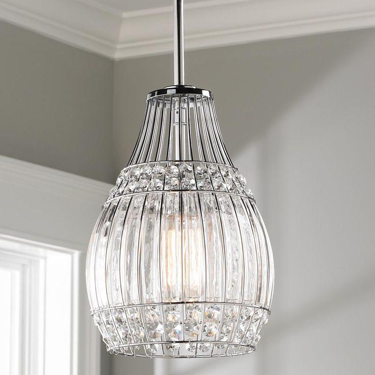 145 best crystal clear glass images on pinterest clear glass crystals and glass pendant light. Black Bedroom Furniture Sets. Home Design Ideas