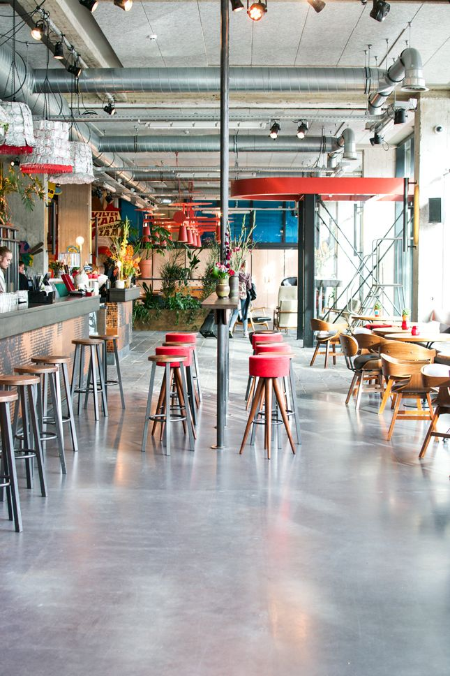 Volkshotel In Amsterdam #hotel #cocktail #bar #lounge #artistic #creative