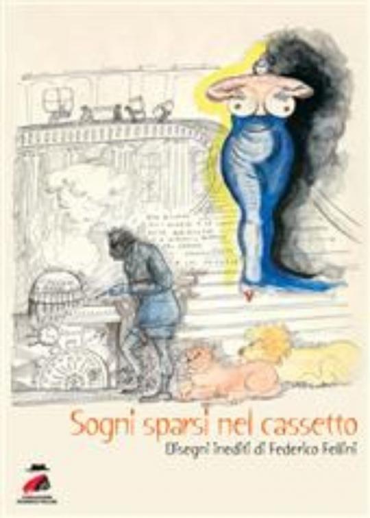 Disegni inediti di Federico Fellini