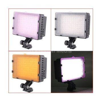 Lampe à incandescence 9,0 Watt de Caméra vidéo 160-LED et de caméscope DV, Camera Lampe pour Canon Eos 1100D,1200D,700D,650D,600D,550D,100D,70D,60D,50D,7D,6D,5D,Nikon D7100 D5300,D5100,D5200,D3200 D3300,D3100,D700,Fuji HS30,HS50,S4500,S4800,Olympus E620 E520 E30 E3 E5,Panasonic FZ62 FZ72 FZ200 G10 GH2,Pentax Pentax K5,K30,K50,K500 DSLR Reflex Numériques & Compacts hybrides