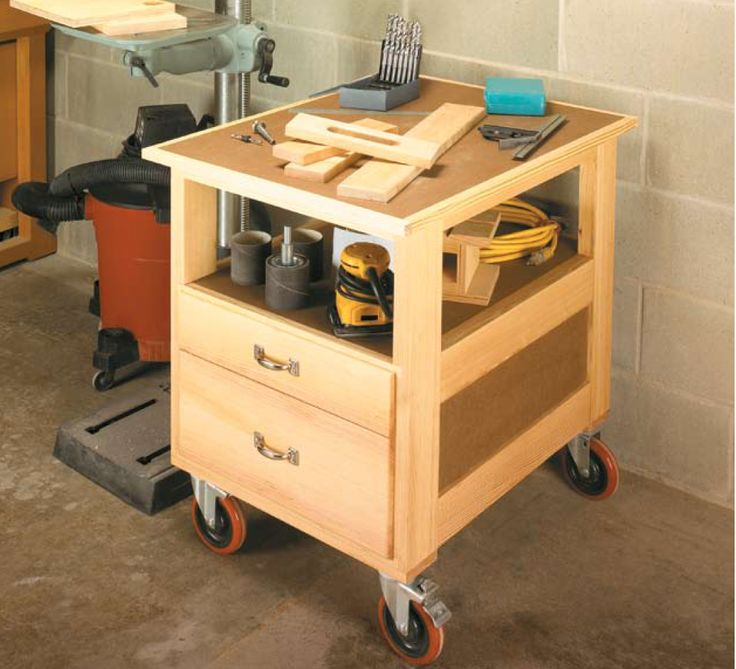 94 best images about woodsmith shop tools jigs for Woodworking cart