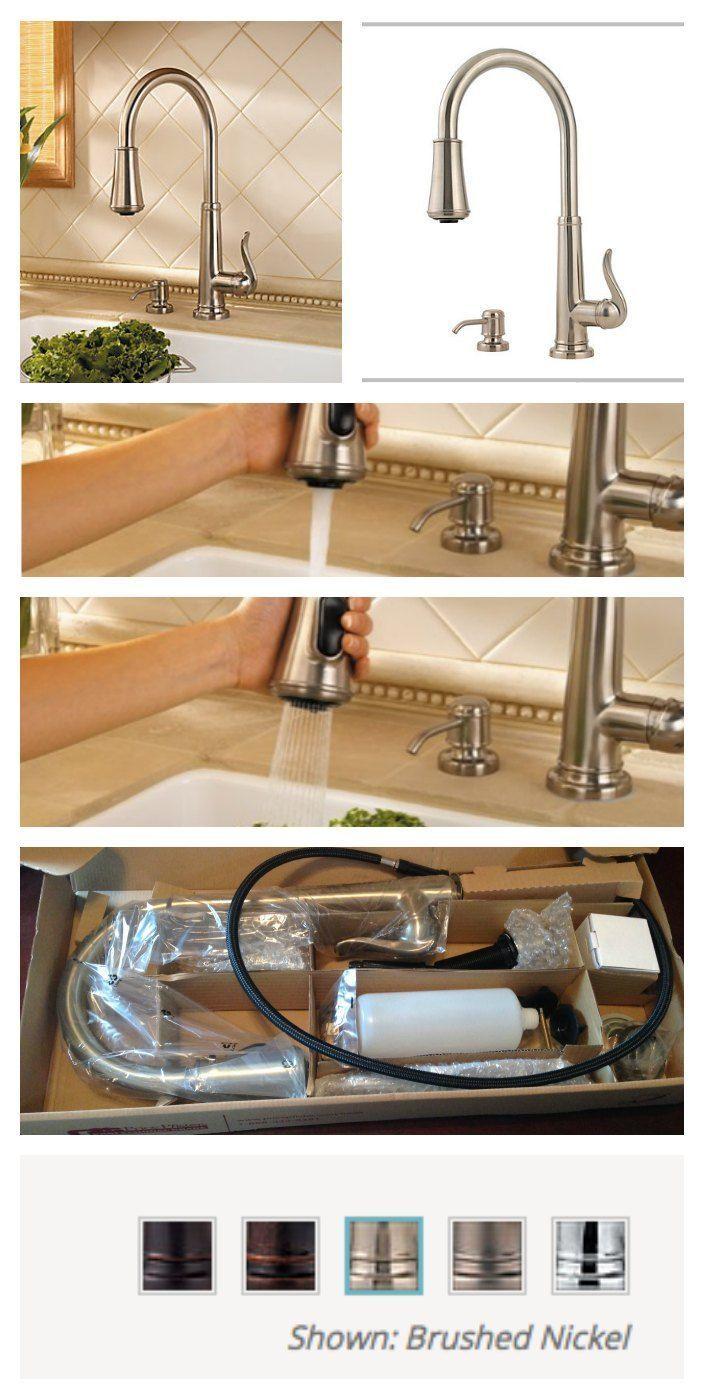 Diy Wasserhahn Upgrade Mein Kuchenwasserhahn Upgrade Ich Habe Einen Pfister Einen Kuchenwasserha Kitchen Faucet Upgrade Faucet Upgrade Kitchen Faucet