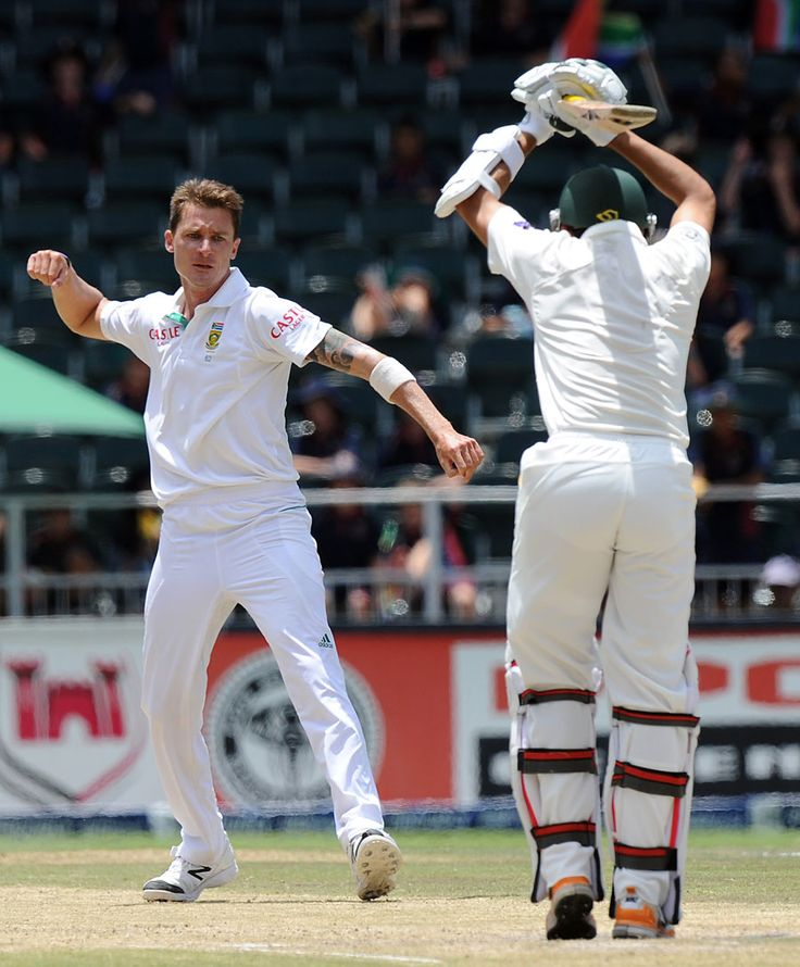 Dale Steyn's 11th wicket ended the Test