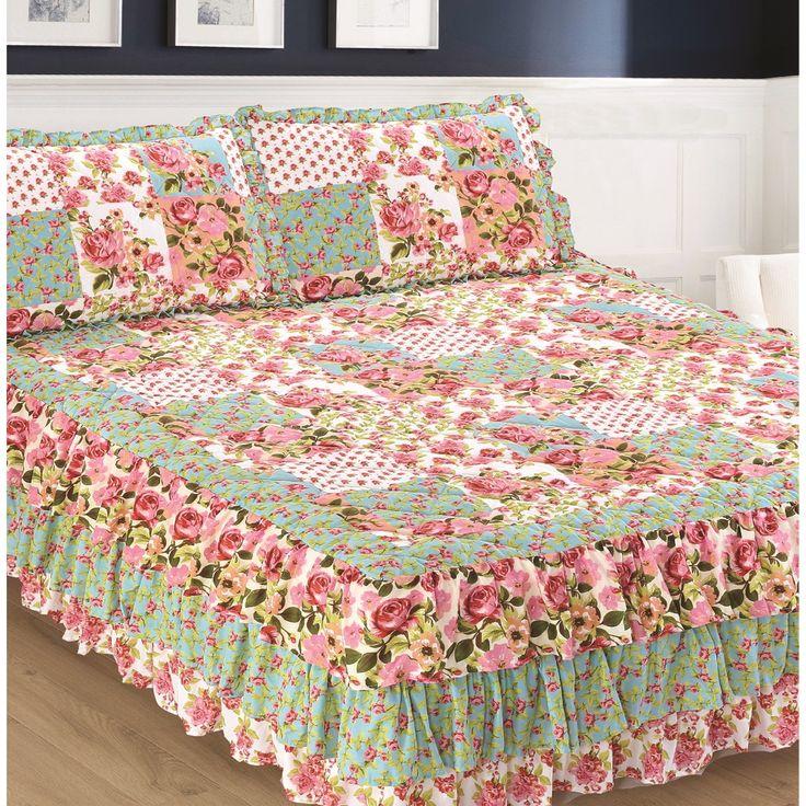 Best 25+ Ruffle bedspread ideas on Pinterest | Ruffle ... Ruffled Bedspreads