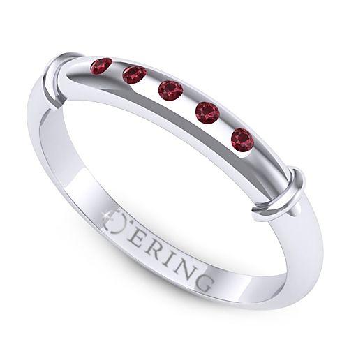 Inel logodna L57ARB inel cu rubin
