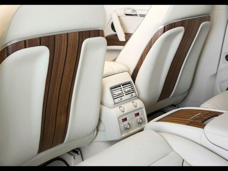 2008 Audi Q7 V12 TDI Coastline Concept - Rear Seat Controls - 1920x1440 - Wallpaper