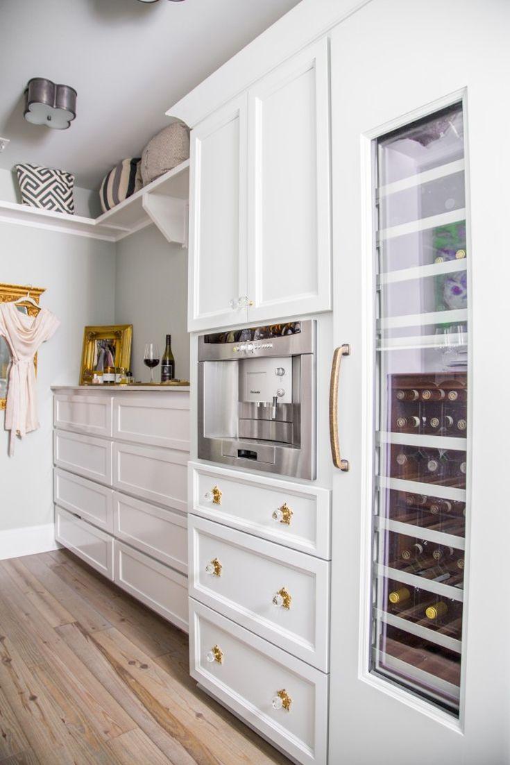 Coffee Maker In The Bedroom : Best 25+ Built in coffee maker ideas on Pinterest