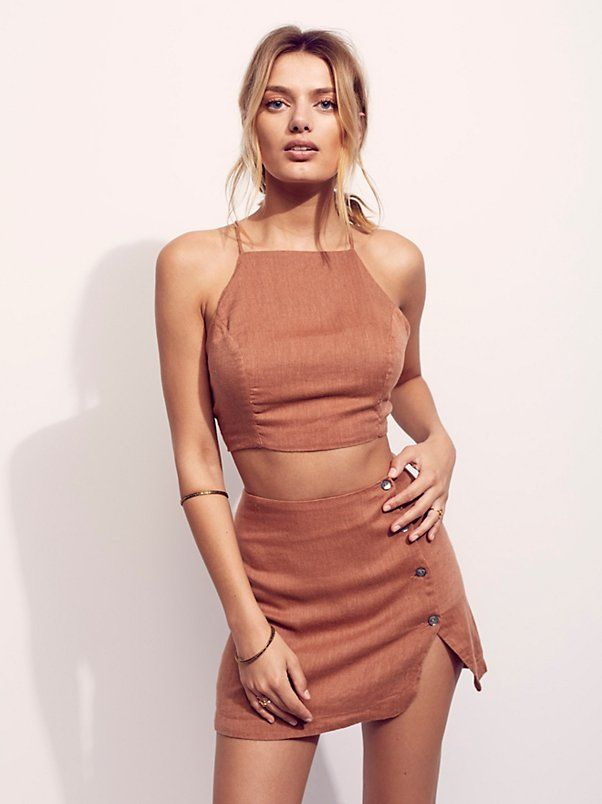 Bregje Heinen || FP Endless Summer I Found You Skirt Set (Spice)