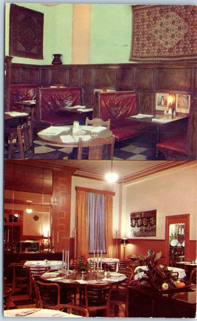 Pelican Restaurant, Klamath Falls, OR - 1953