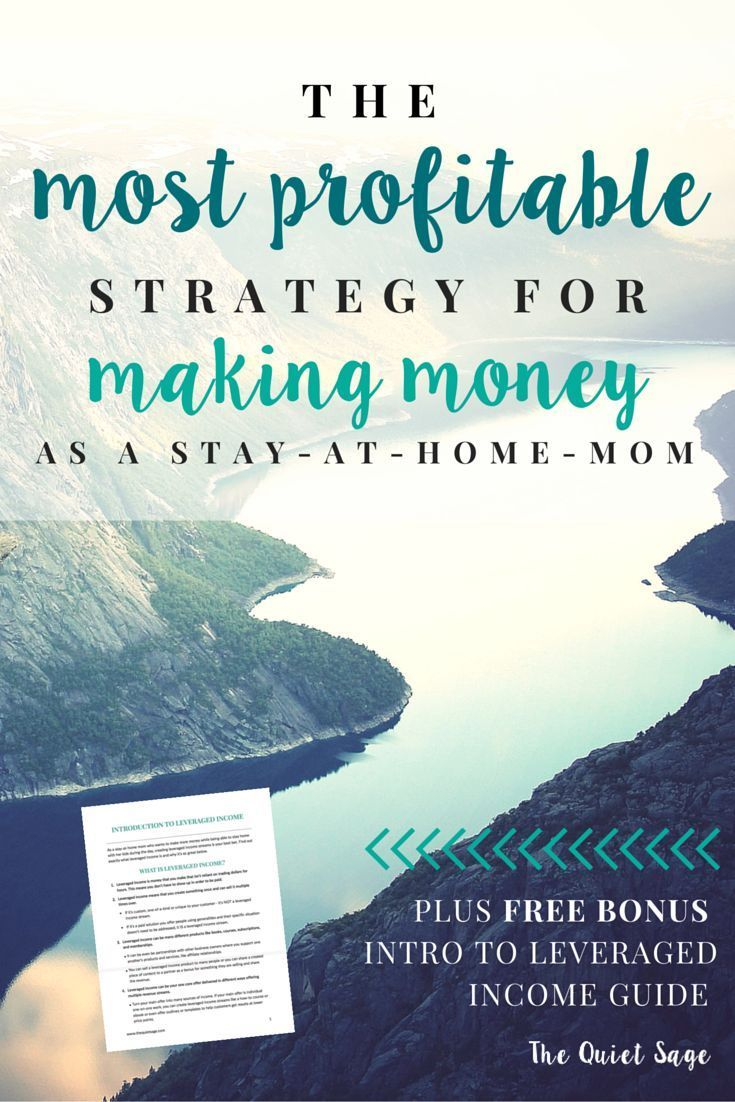 Are you a stay-at-home mom who wants to make money from home? Check out this blog post outlining the most profitable strategy for stay-at-home moms to stop worrying about trading hours for dollars and to finally make a great income from home. Click throug