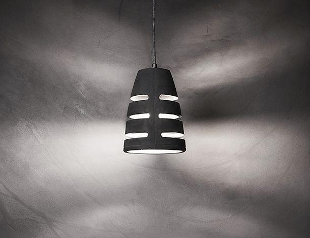Battaglia concrete pendant lamp design Urbi et Orbi 2015