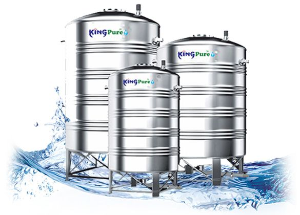 King Pure Steel Tank Kingpure Stainless Steel Water Tanks Are Designed To Give You Years Of Trouble Free Performance Kingp In 2020 Water Tank Pure Products Steel