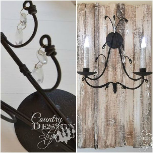 s 13 brilliant things you can make from common thrift store finds, crafts, repurposing upcycling, From an Elegant Candle Sconce
