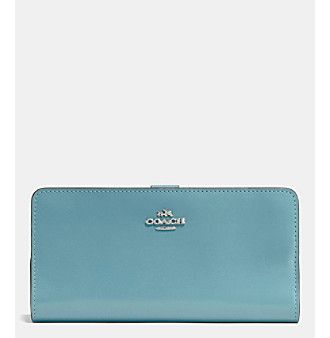 COACH SKINNY WALLET IN REFINED CALF LEATHER