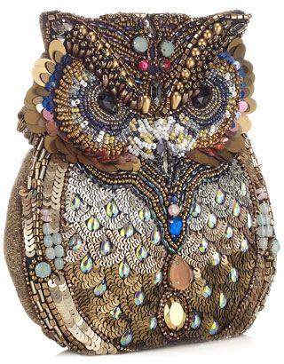 Oscar The Embellished Owl Bag Pinned by www.myowlbarn.com