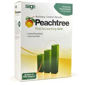 Sage Peachtree First Accounting 2010 Software for PC Deal