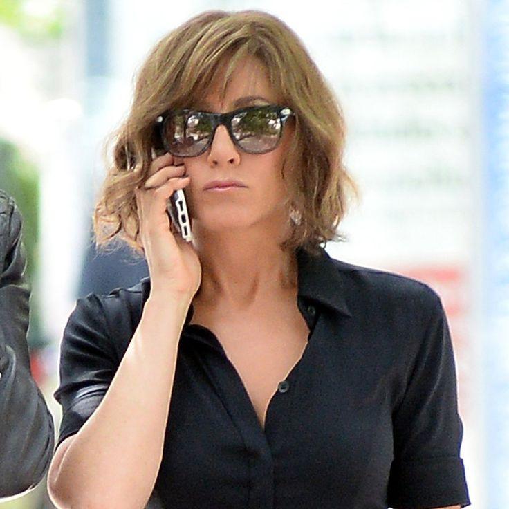 Jennifer Aniston's Big Apple Summer on Set